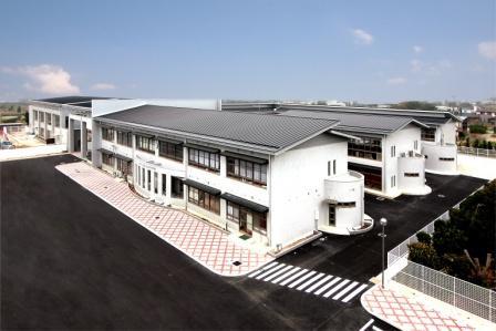 山川中学校校舎改築工事