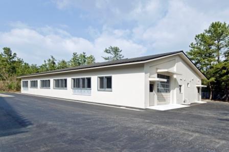動物舎(隔離保護舎)新築工事