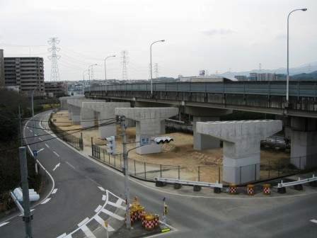 福岡3号筑紫野高架橋下部工(A1~P7)工事