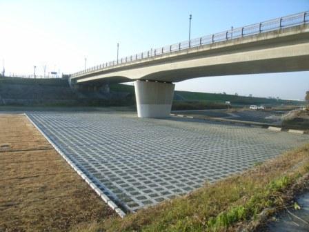 矢部川中島地区工事用道路整備外1件工事