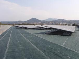 大村メガソーラー発電所増設工事の内、敷地整地及び太陽電池基礎他工事