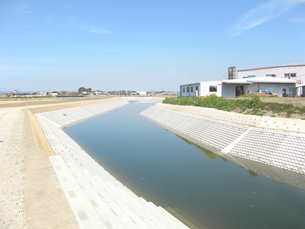 クリーク防災機能保全対策事業 筑後北部第2 II期地区 平成28年度起工第1号 水路工事(3号)