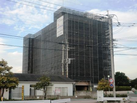 ウイング新栄町大規模修繕工事     施行前