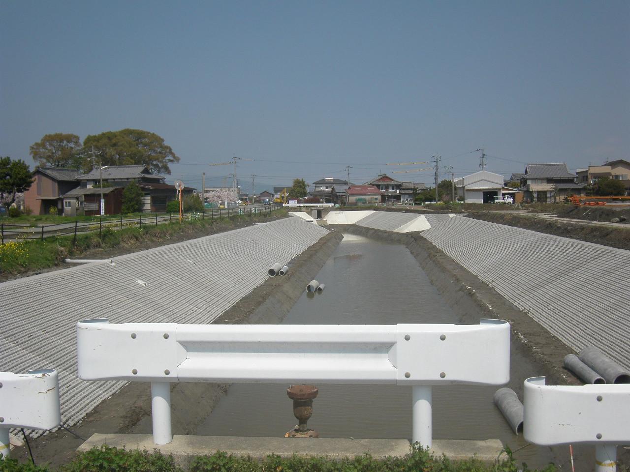 01平成25年度 起工第3号クリーク防災機能保全対策事業 水路工事(西部3・14号)