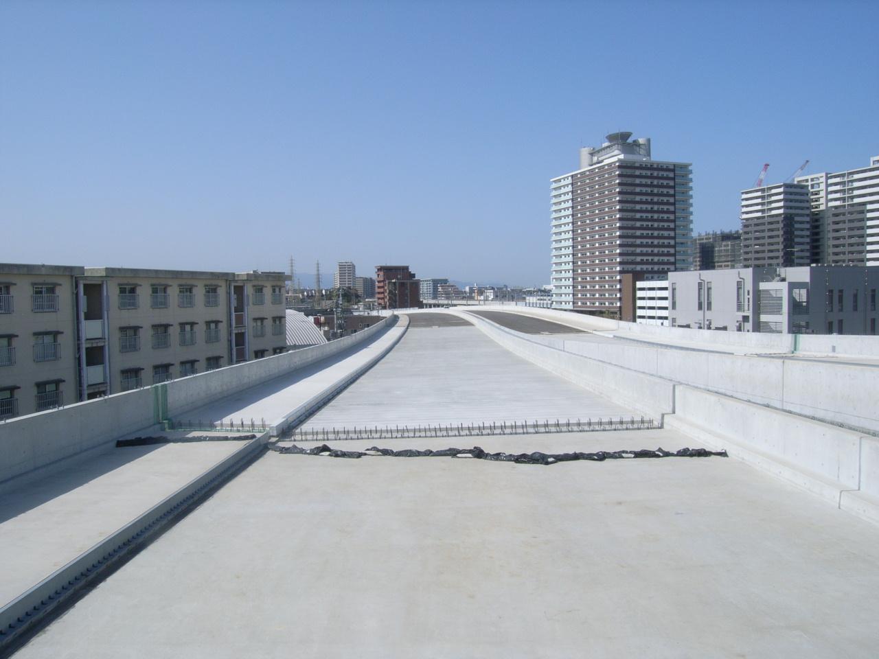 01国道3号水谷高架橋床版工事