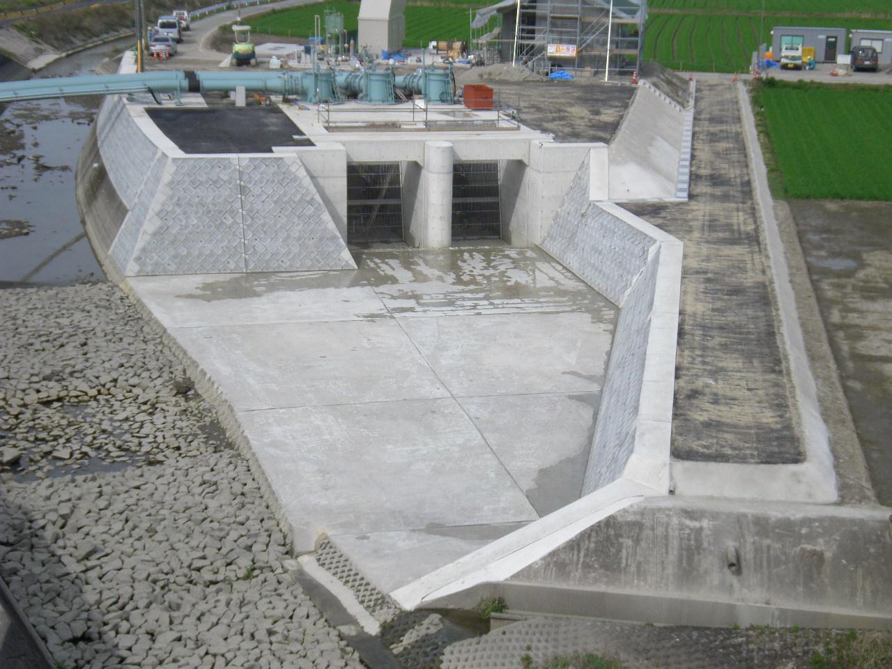 01川内排水機場新築工事