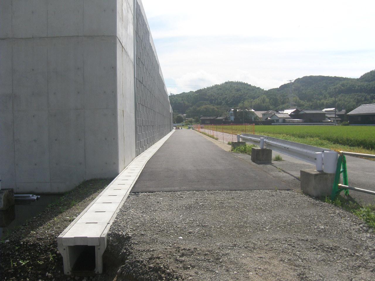 03県道高田山川線道路新設工事